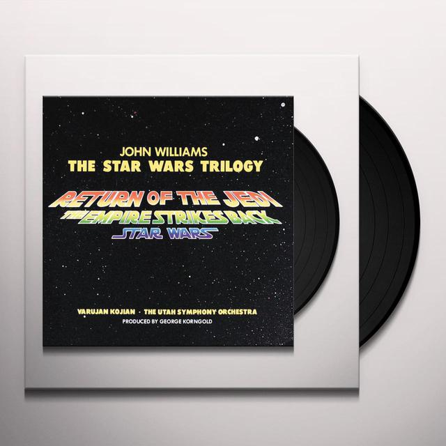 STAR WARS TRILOGY (UTAH SYMPHONY ORCHESTRA) / OST Vinyl Record