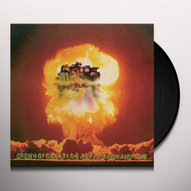 Jefferson Airplane CROWN OF CREATION Vinyl Record - Gatefold Sleeve, Limited Edition, 180 Gram Pressing