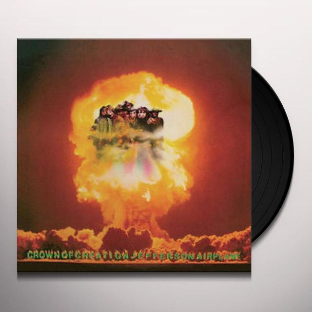 Jefferson Airplane CROWN OF CREATION Vinyl Record - Gatefold Sleeve, Limited Edition, 180 Gram Pressing