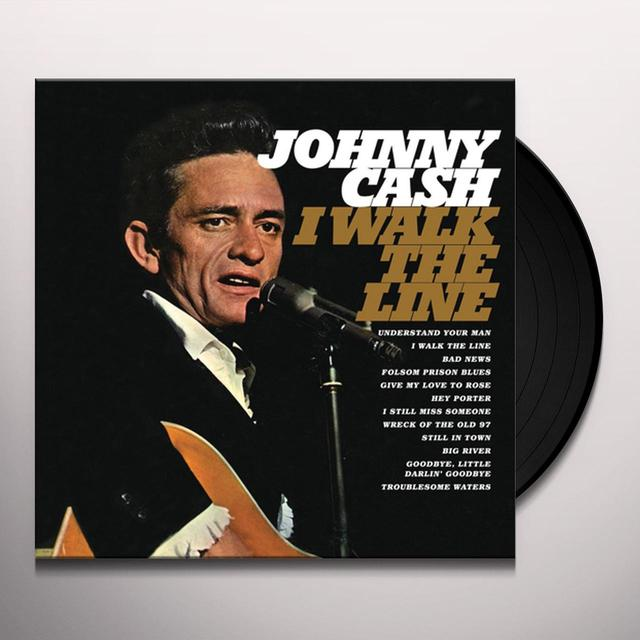 Johnny Cash I WALK THE LINE Vinyl Record