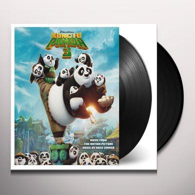Hans Zimmer KUNG FU PANDA 3 / O.S.T. Vinyl Record - Holland Import