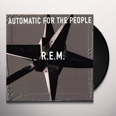 R.E.M. AUTOMATIC FOR THE PEOPLE Vinyl Record - UK Release