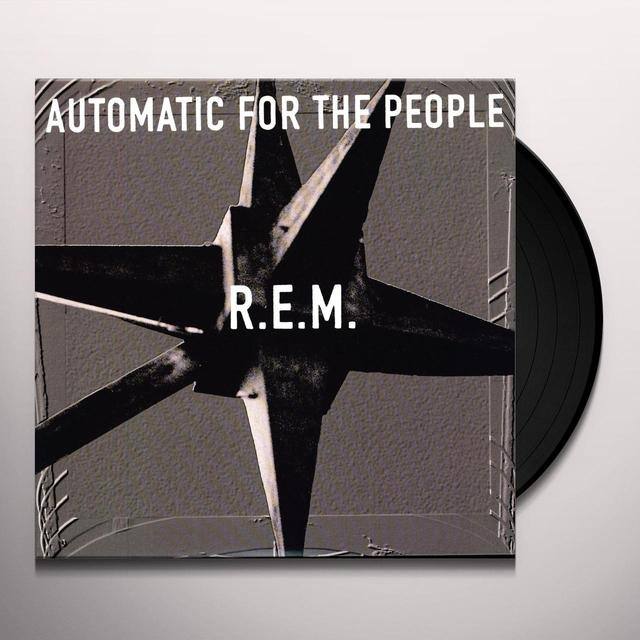 R.E.M. AUTOMATIC FOR THE PEOPLE Vinyl Record - UK Import