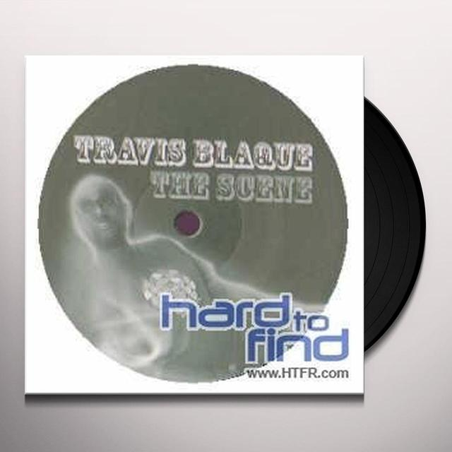 Travis Blaque SCENE Vinyl Record - Spain Import