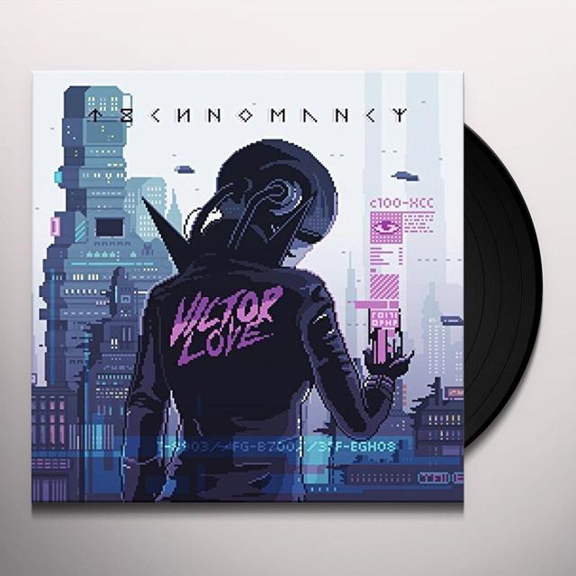 Victor Love TECHNOMANCY Vinyl Record