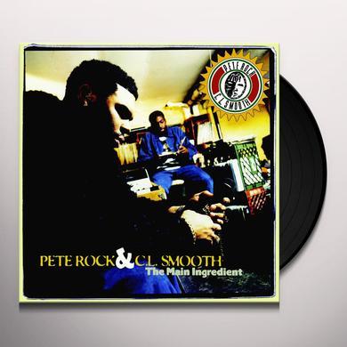 Pete Rock / Cl Smooth MAIN INGREDIENT Vinyl Record