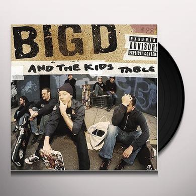 BIG D & KID'S TABLE HOW IT GOES Vinyl Record
