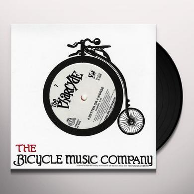 Pharcyde 4 BETTER OR 4 WORSE Vinyl Record
