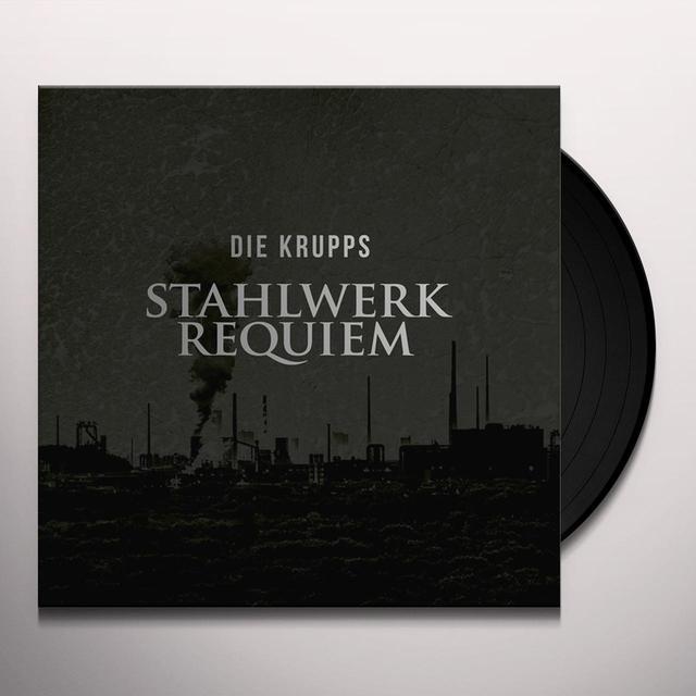 Die Krupps STAHLWERKREQUIEM Vinyl Record - w/CD