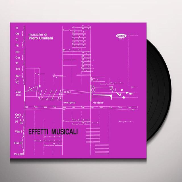 Piero Umiliani EFFETTI MUSICALI Vinyl Record