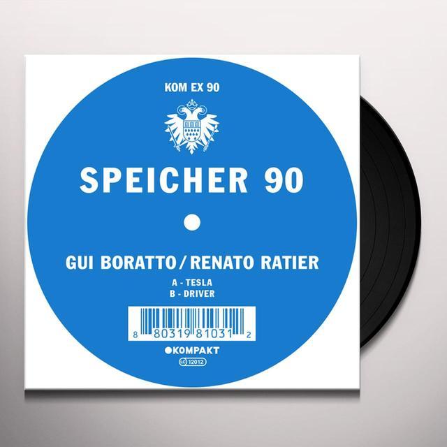 Gui Boratto / Renato Ratier SPEICHER 90 Vinyl Record