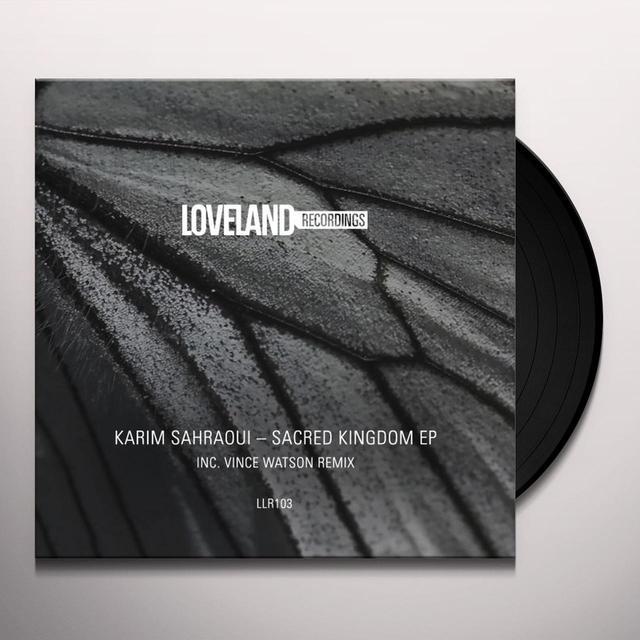 Karim Sahraoui SACRED KINGDOM Vinyl Record