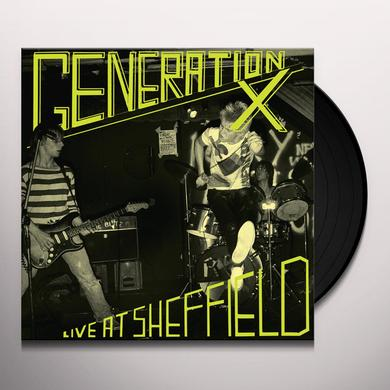 Generation X LIVE AT SHEFFIELD Vinyl Record