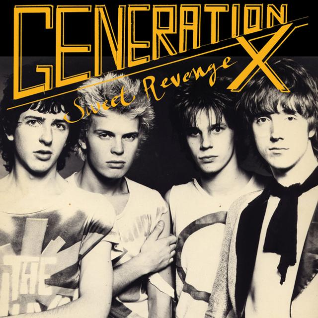 Generation X SWEET REVENGE Vinyl Record