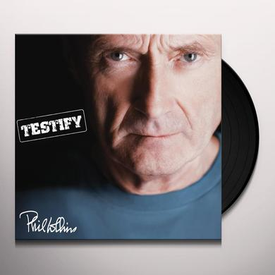 Phil Collins TESTIFY Vinyl Record - 180 Gram Pressing