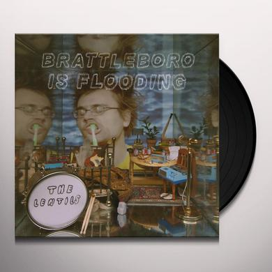 The Lentils BRATTLEBORO IS FLOODING Vinyl Record
