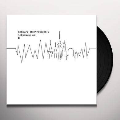 HAMBURG ELEKTRONISCH 3: TEKNOMUSI / VARIOUS Vinyl Record