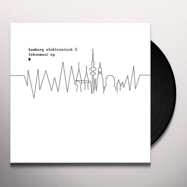 HAMBURG ELEKTRONISCH 3: TEKNOMUSI / VARIOUS (EP) Vinyl Record