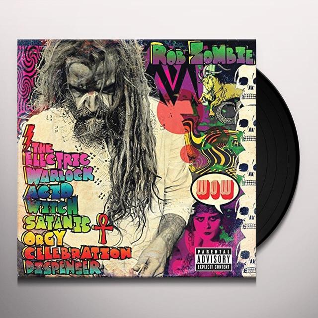 Rob Zombie ELECTRIC WARLOCK ACID WITCH SATANIC ORGY CELEBRATI Vinyl Record