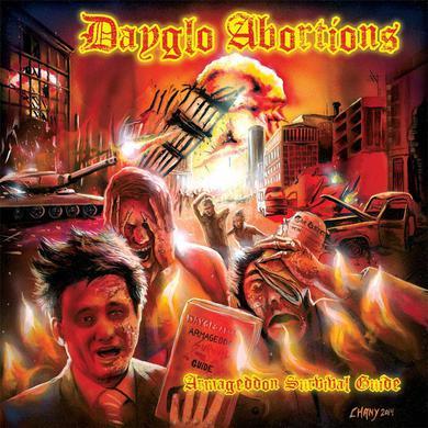 Dayglo Abortions ARMAGEDDON SURVIVAL GUIDE Vinyl Record