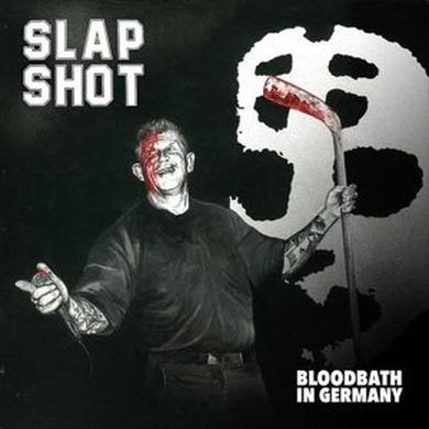 Slapshot BLOODBATH IN GERMANY Vinyl Record