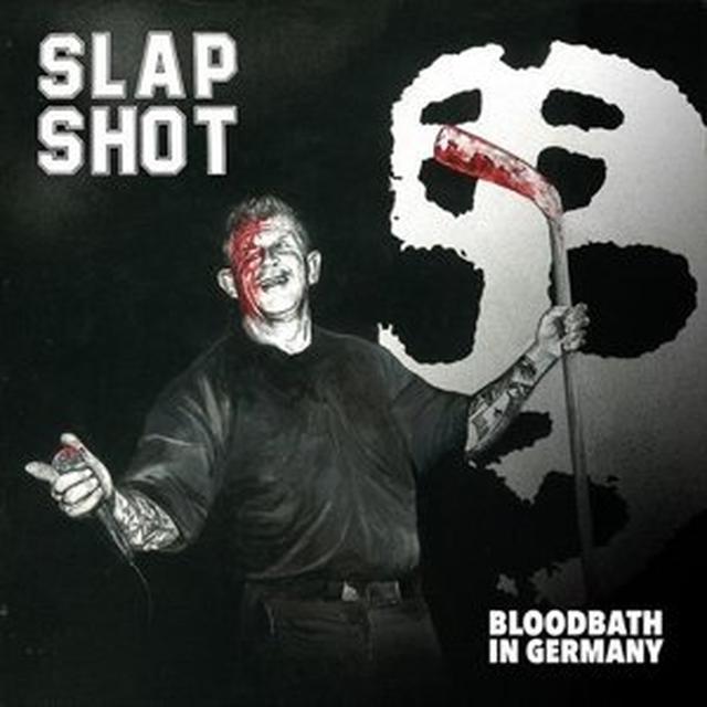 Slapshot BLOODBATH IN GERMANY Vinyl Record