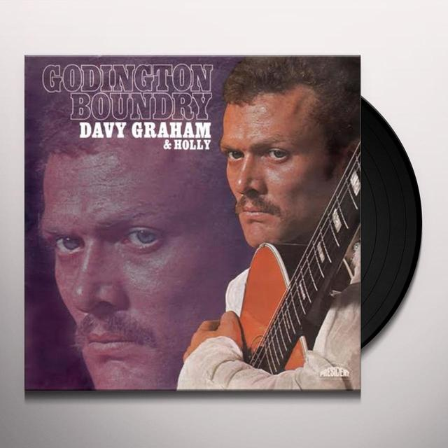 Davy Graham & Holly GODINGTON BOUNDRY Vinyl Record - UK Release