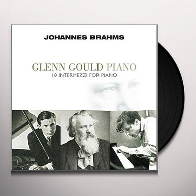 Johannes Brahms 10 INTERMEZZI FOR PIANO Vinyl Record - Holland Import