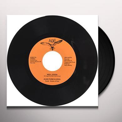 ALIAS FUNK & SOUL WELL GOOD Vinyl Record