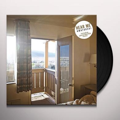 Amatorski HEAR ME (JULIA HOLTER REMIX) Vinyl Record - UK Import