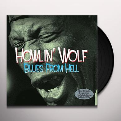 howlin' wolf BLUES FROM HELL Vinyl Record