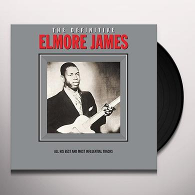 Elmore James DEFINITIVE Vinyl Record - 180 Gram Pressing, UK Import