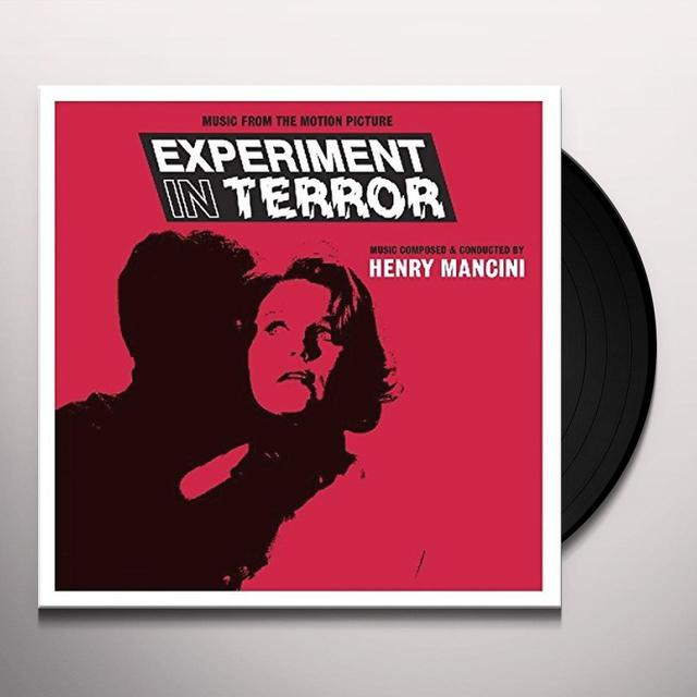Henry Mancini EXPERIMENT IN TERROR / O.S.T. Vinyl Record - 180 Gram Pressing, UK Import