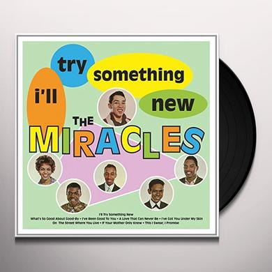 Miracles I'LL TRY SOMETHING NEW Vinyl Record - 180 Gram Pressing, UK Import