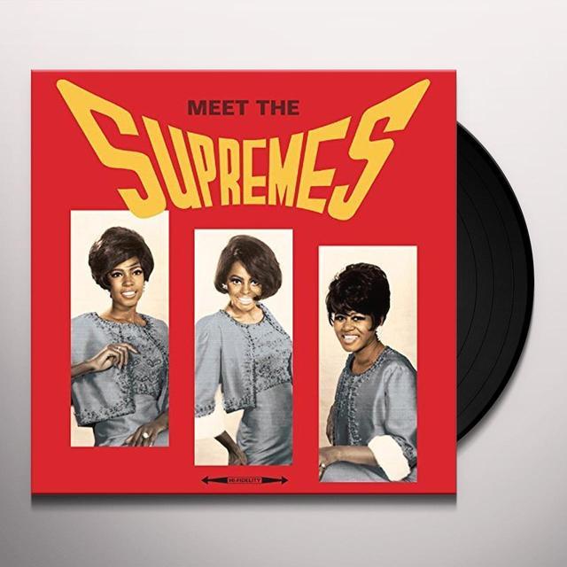 MEET THE SUPREMES Vinyl Record - 180 Gram Pressing, UK Import