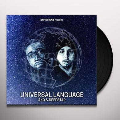 AKD & DEEPSTAR UNIVERSAL LANGUAGE Vinyl Record