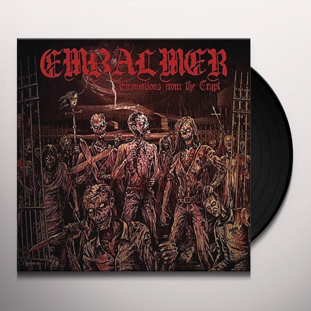 Embalmer EMANATIONS FROM THE CRYPT Vinyl Record - UK Release