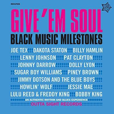 GIVE EM SOUL 3 / VARIOUS (UK) GIVE EM SOUL 3 / VARIOUS Vinyl Record