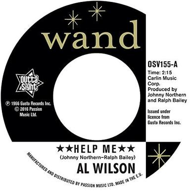 Al Wilson HELP ME Vinyl Record
