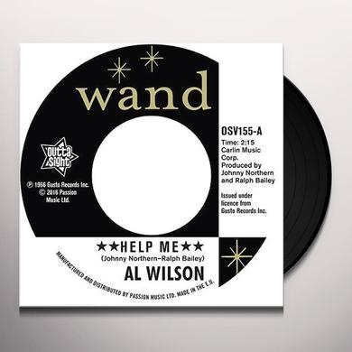 Al Wilson HELP ME Vinyl Record - UK Import