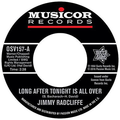 Jimmy Radcliffe LONG AFTER TONIGHT IS ALL OVER Vinyl Record