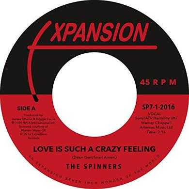 The Spinners LOVE IS SUCH A CRAZY FEELING / GOT TO BE LOVE Vinyl Record