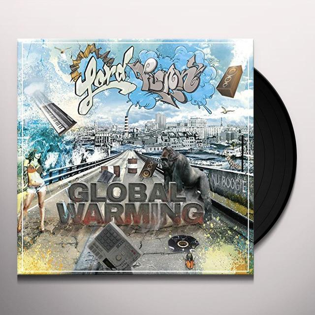 LORD FUNK GLOBAL WARMING Vinyl Record