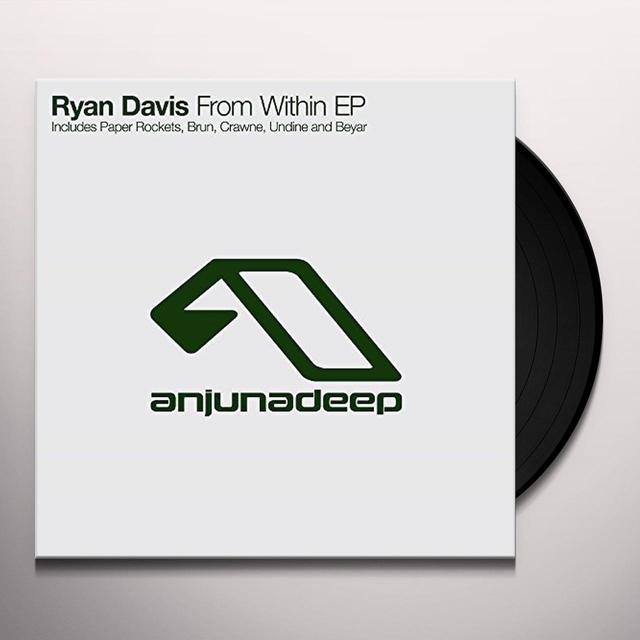 Ryan Davis FROM WITHIN (EP) Vinyl Record - UK Import