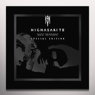 Highasakite SILENT TREATMENT (2016 REISSUE)  (WSV) Vinyl Record - Clear Vinyl, UK Import