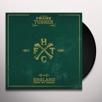 Frank Turner ENGLAND KEEP MY BONES Vinyl Record - UK Import