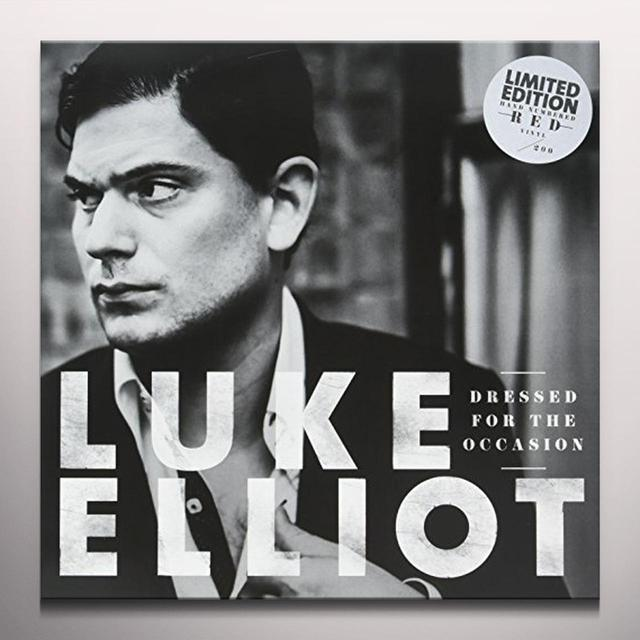 Luke Elliot DRESSED FOR THE OCCASION (RED VINYL) Vinyl Record