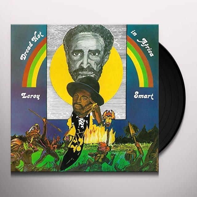 Leroy Smart DREAD HOT IN AFRICA Vinyl Record - UK Release