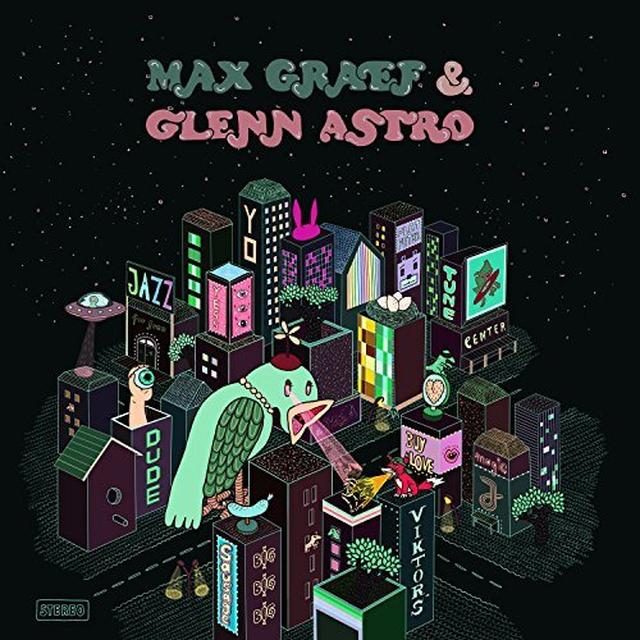 Max Graef / Glenn Astro YARD WORK SIMULATOR Vinyl Record - UK Release