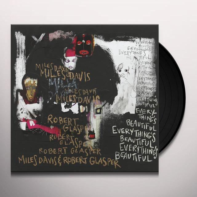 Miles Davis / Robert Glasper EVERYTHING'S BEAUTIFUL Vinyl Record
